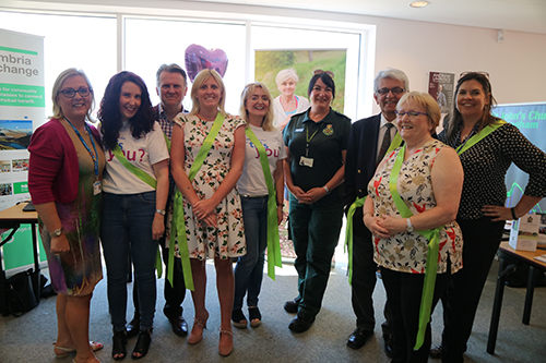 New NHS and care staff being welcomed with Tea With The Team