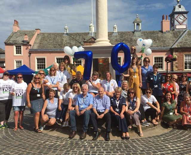 Cumbria celebrates 70 years of the NHS
