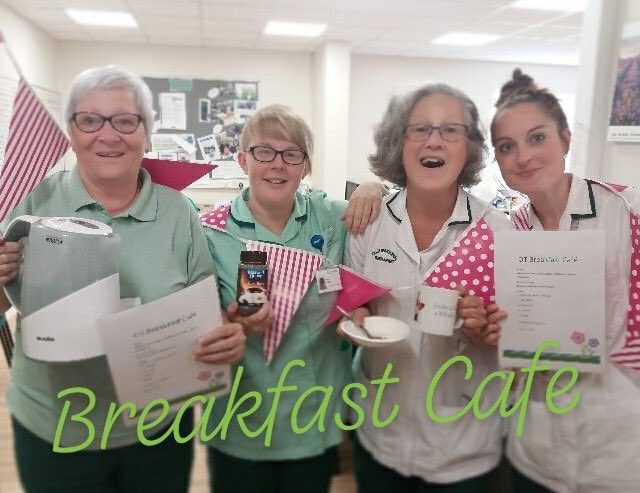 Breakfast café and activity programme support patients' hospital recovery