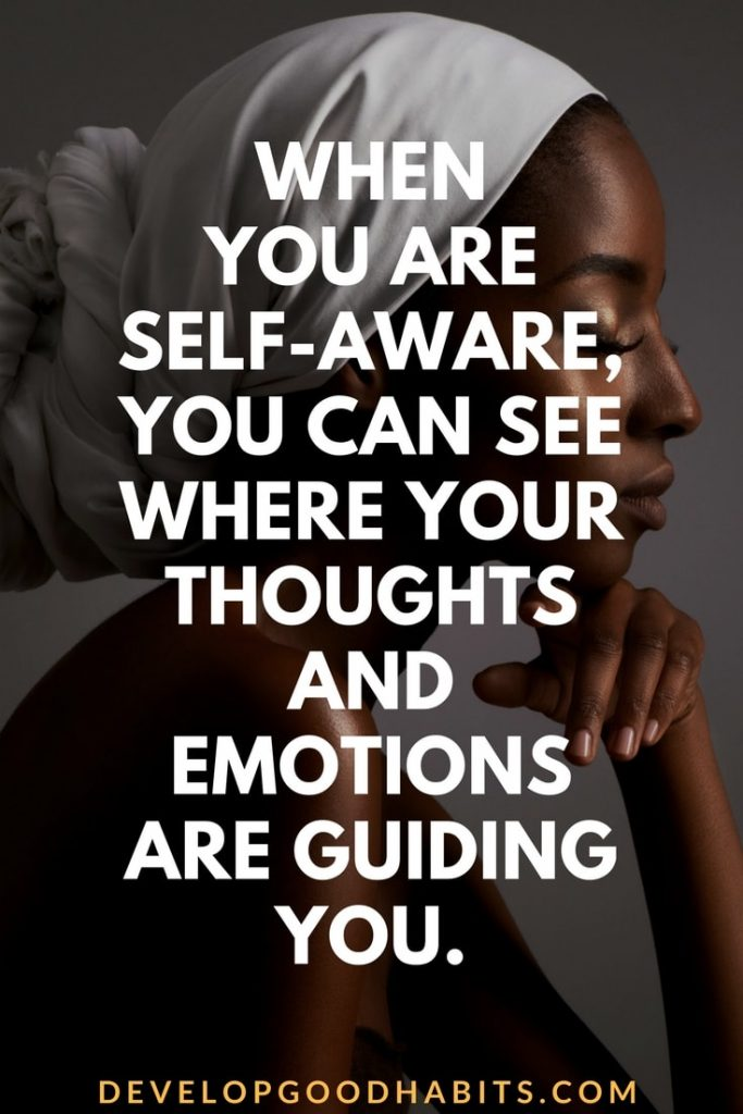 Improving self awareness 2