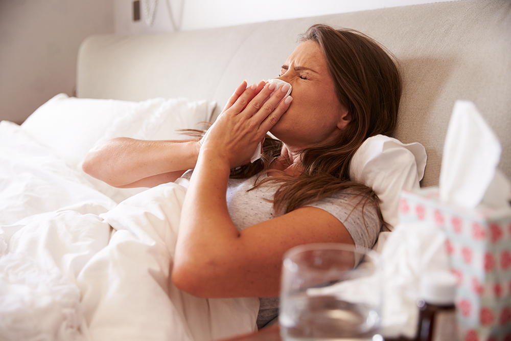 Thousands of frontline NHS staff in Cumbria are fighting flu