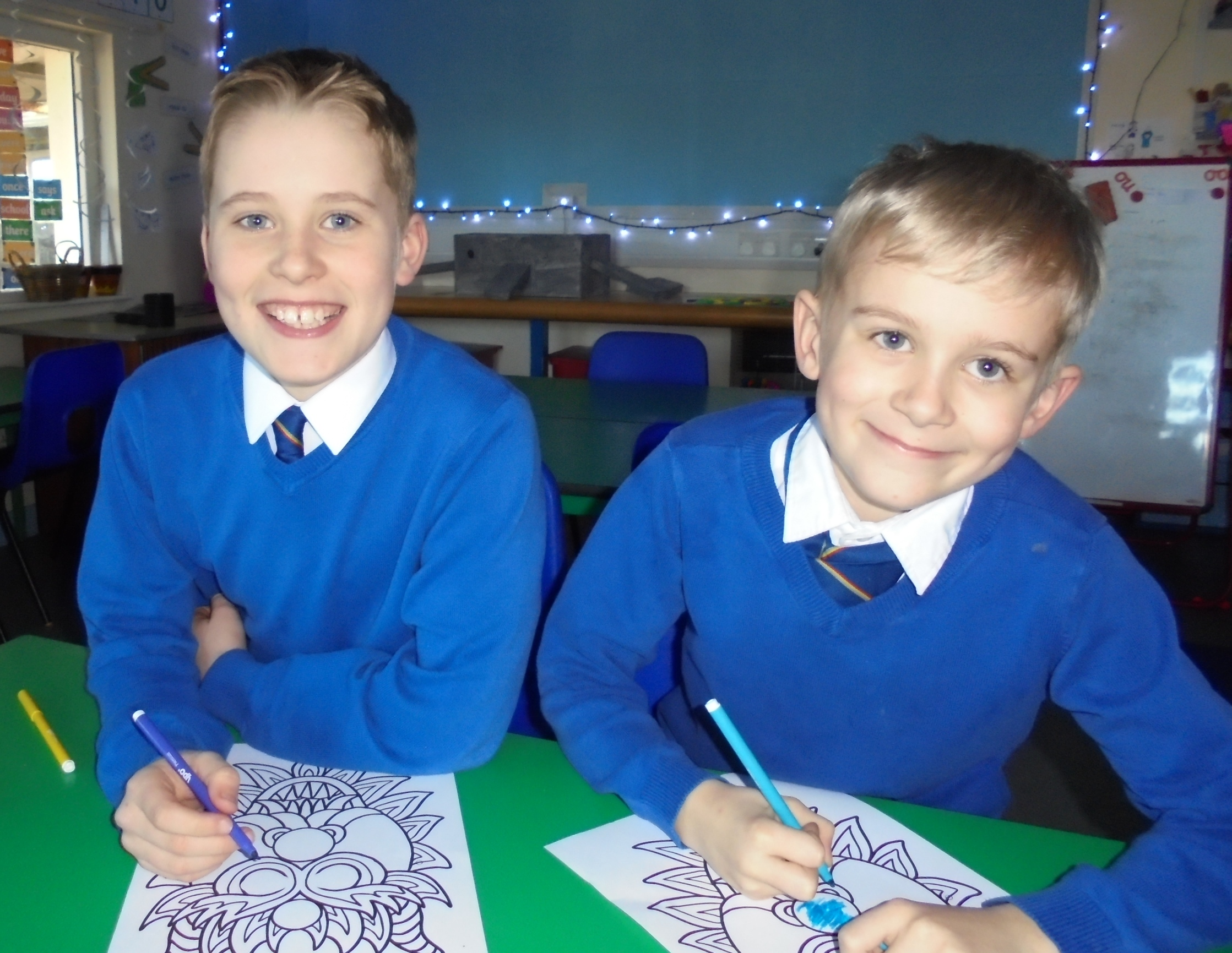 Local school pupils help to spread data security message for the NHS