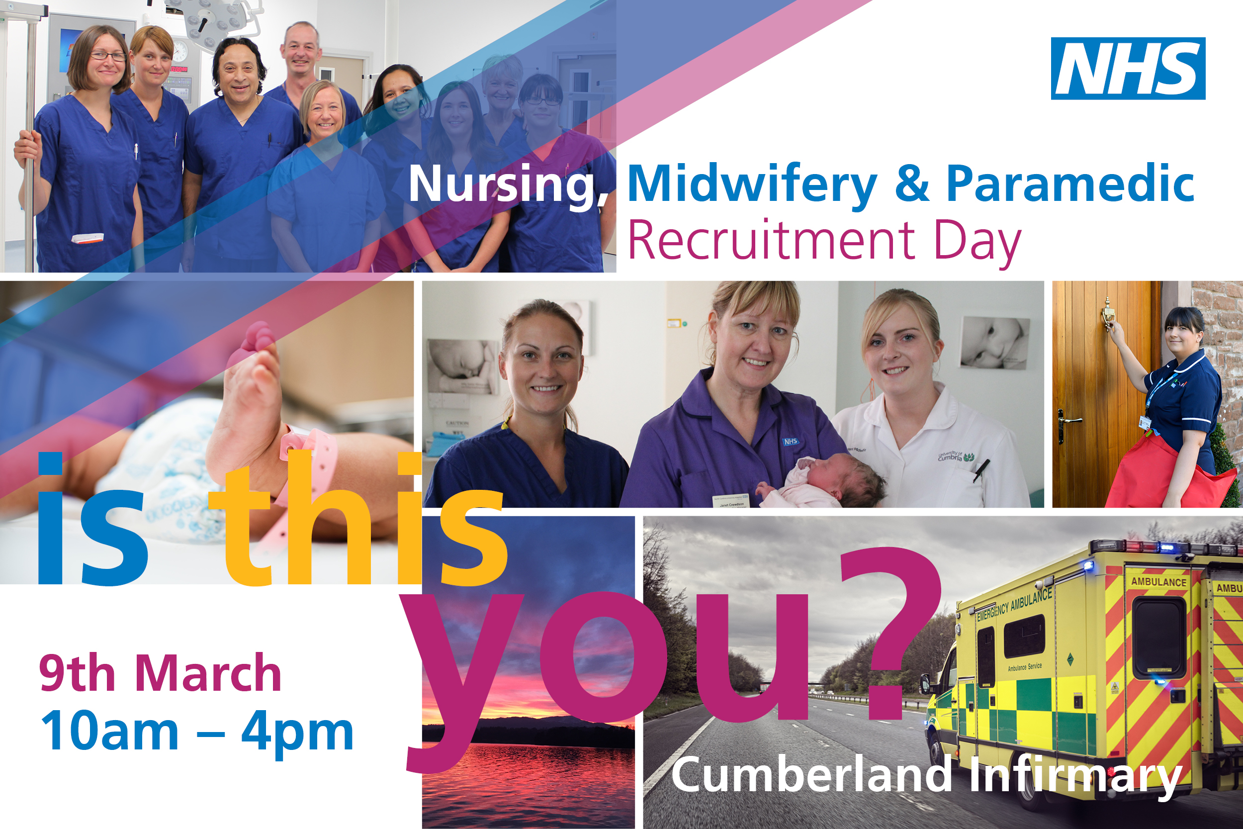 Recruitment day for current and future midwifes, nurses and paramedics