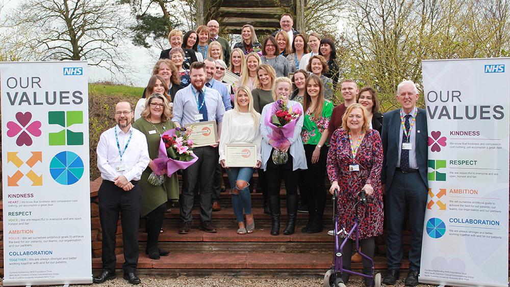 Cumbria's NHS staff achievements celebrated