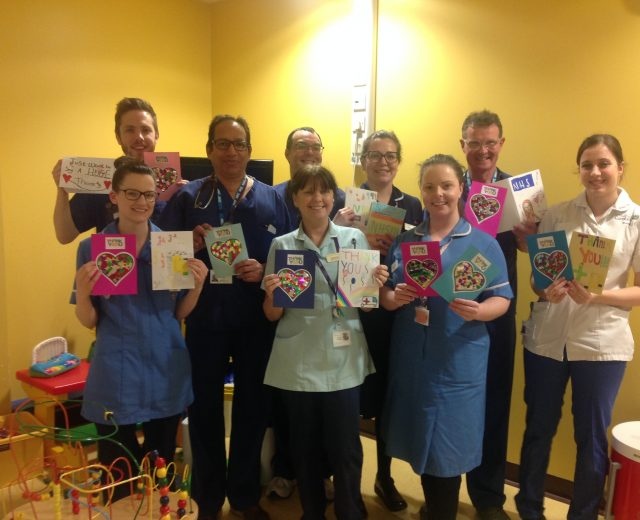 'Random act of kindness' from local school children brighten up A&E department in Whitehaven
