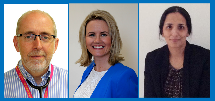 Three key appointments to system leadership team