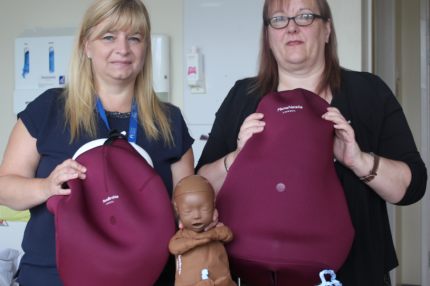 Maternity training aids to support complex home births
