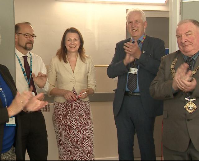 Maryport Day Hospital celebrates a new era.