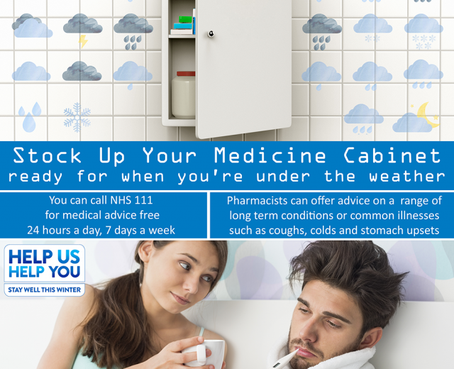 Be Prepared For Winter - Is Your Medicine Cabinet Stocked Up?