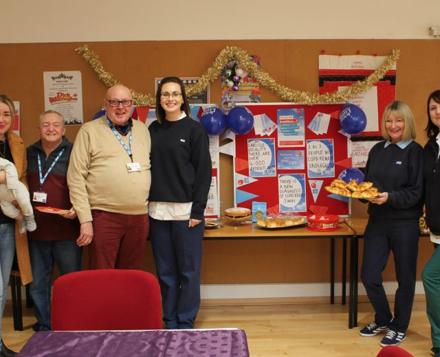 PATIENTS MARK COPD DAY WITH A BIG BREAKFAST