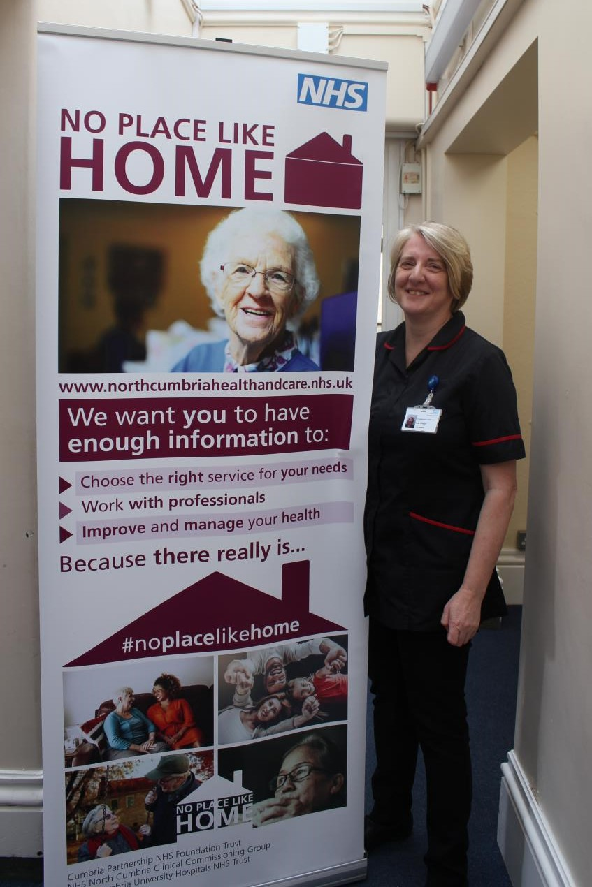 North Cumbria's NHS aims to help people plan well for leaving hospital