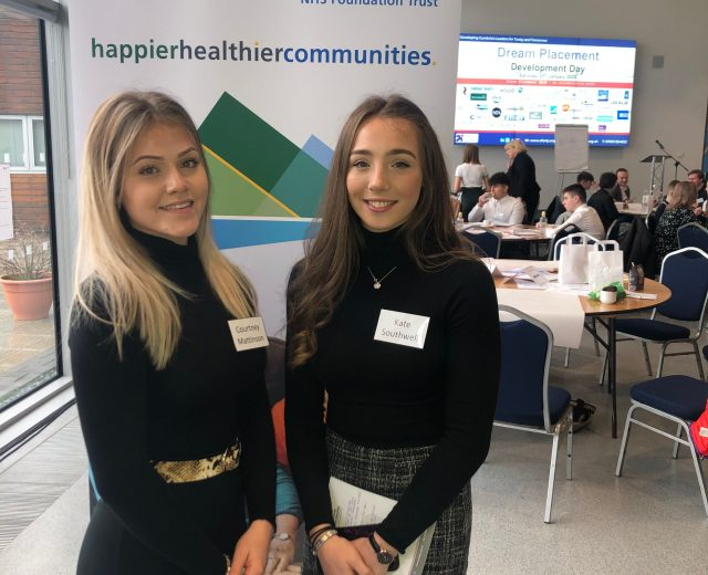 Young people on the NHS Dream Placement