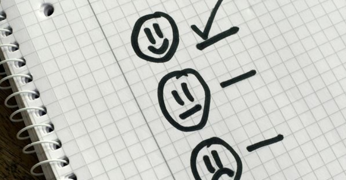 Smiley face ticked for services rated above the national average